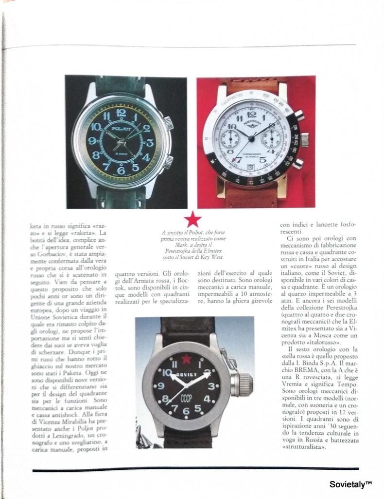 Rivista orologi da polso marzo aprile 1989 n9 anno 3 pag 4