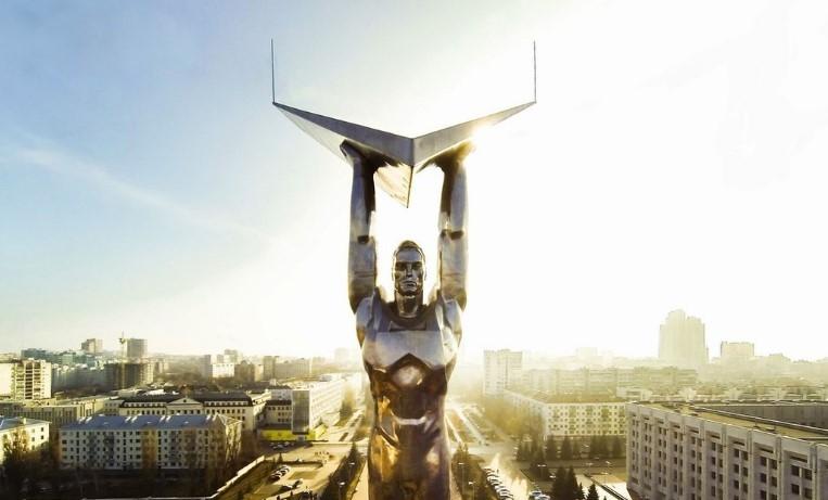 Samara monumento alla gloria dettaglio
